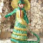 костюм змеи