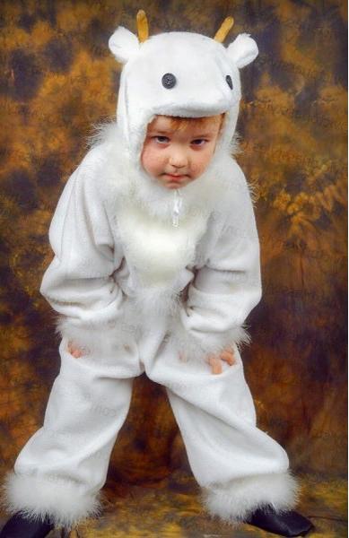 Карнавальный костюм овечки козочки