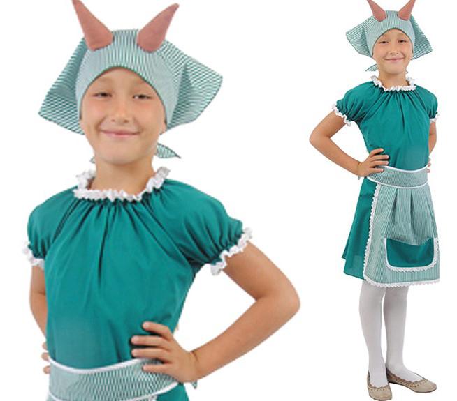 Карнавальный костюм овечки для девочки