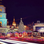 Новый год в Киеве 2016 году