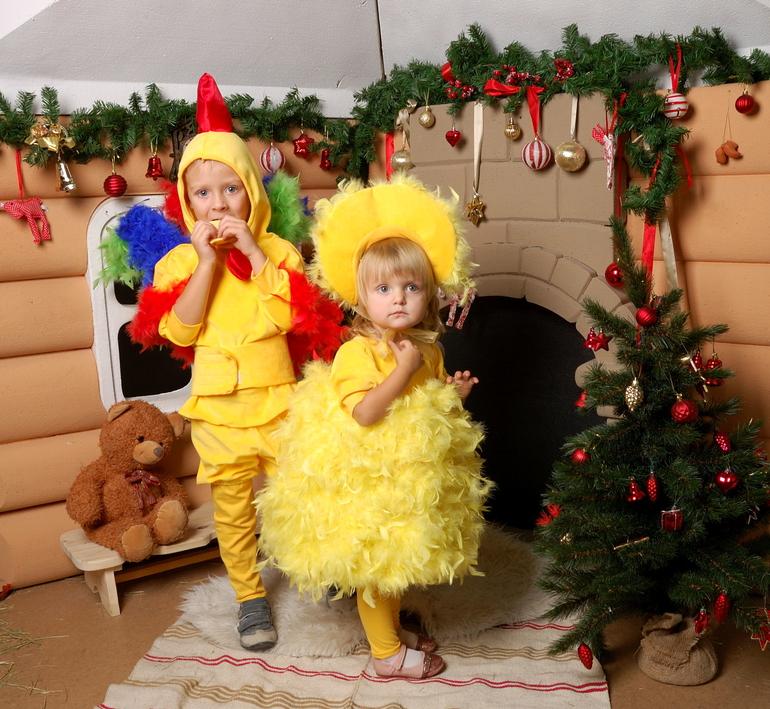 карнавальный костюм цыпленка
