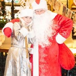 Дед Мороз и Снегурочка Киев