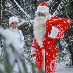 Заказать Деда Мороза и Снегурочку на дом Киев