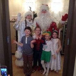 Дед Мороз поздравление для детей Киев