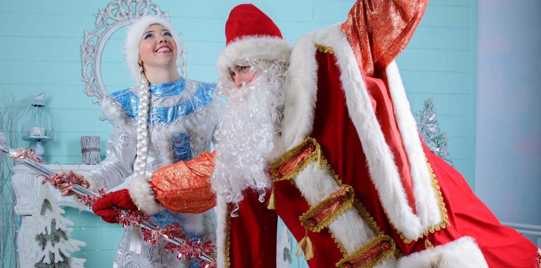 Дед Мороз в офис ресторан корпоратив Киев