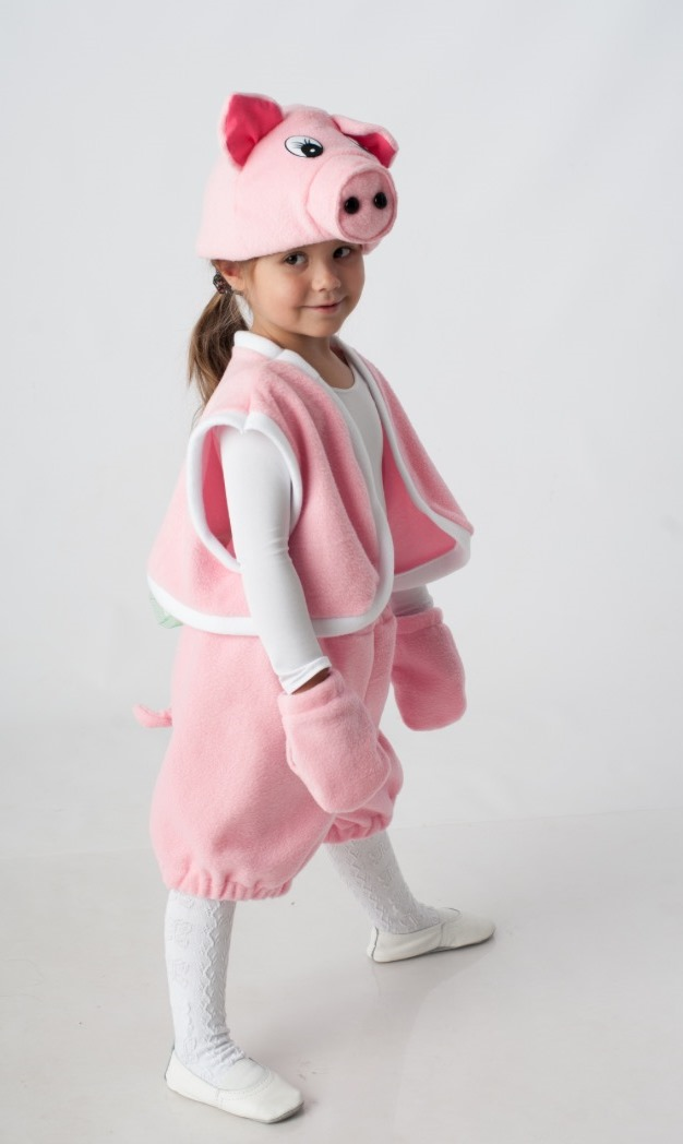 карнавальный костюм свинки для девочки