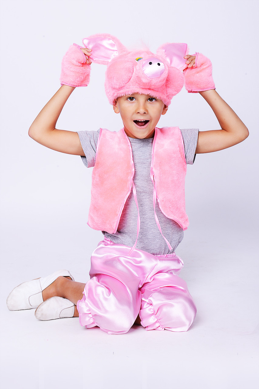карнавальный костюм свинки для мальчика