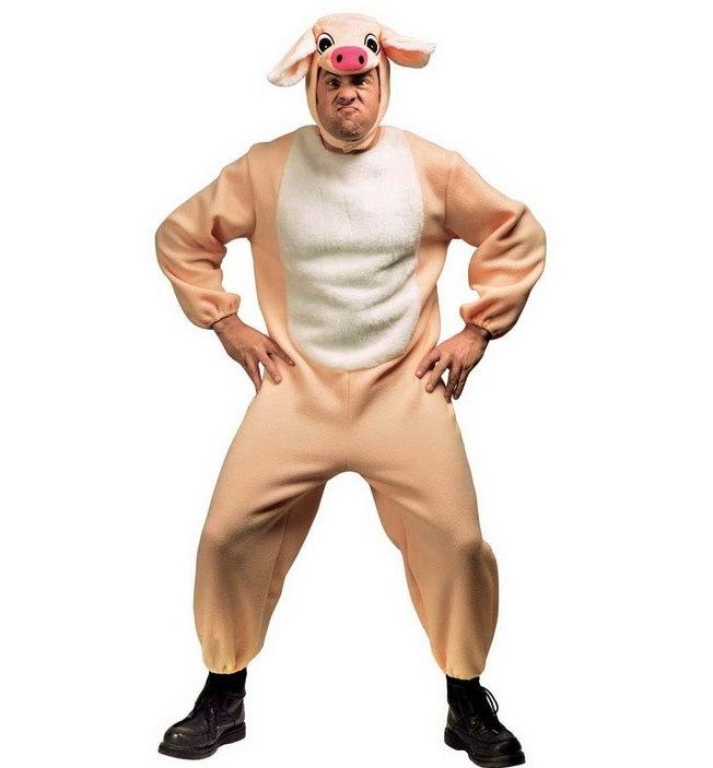 карнавальный костюм свинки для взрослых