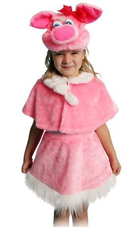 карнавальный костюм свинки для детей