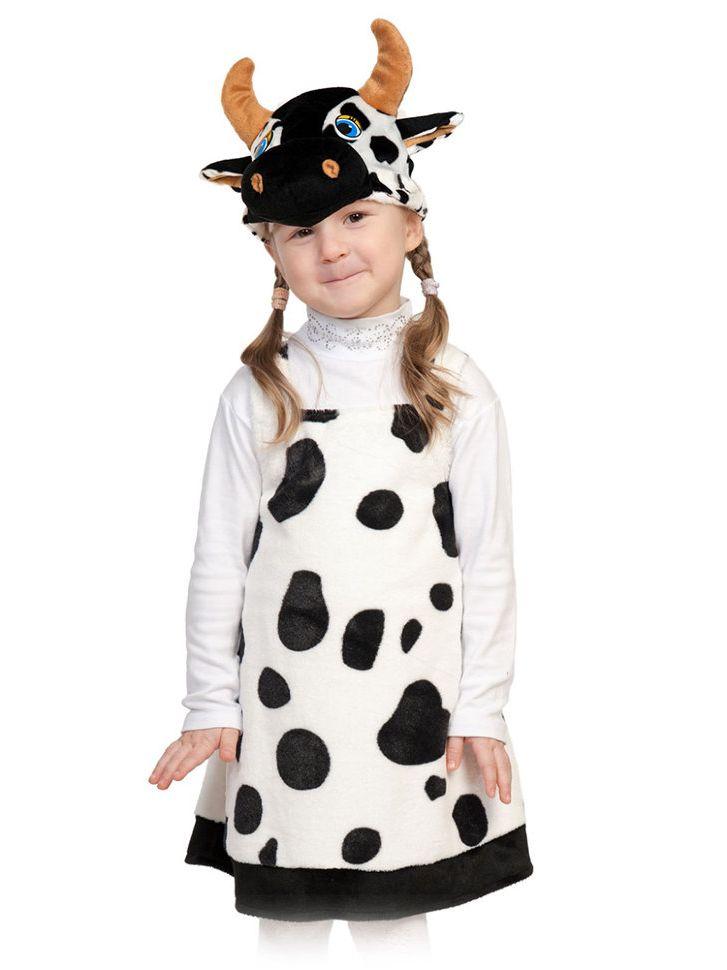 карнавальный костюм коровки для девочки